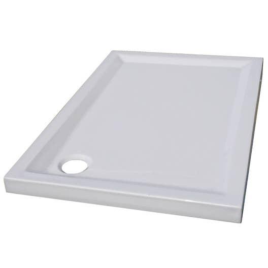 receveur de douche en acrylique renforcé