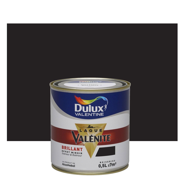 Beautiful Peinture Noir Brillant DULUX VALENTINE Valénite 0.5 L