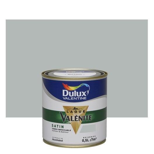 peinture gris alpaga satin dulux valentine val nite 0 5 l leroy merlin. Black Bedroom Furniture Sets. Home Design Ideas