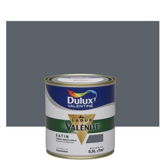 Peinture gris anthracite dulux valentine val nite 0 5 l leroy merlin - Couleur gris anthracite peinture ...
