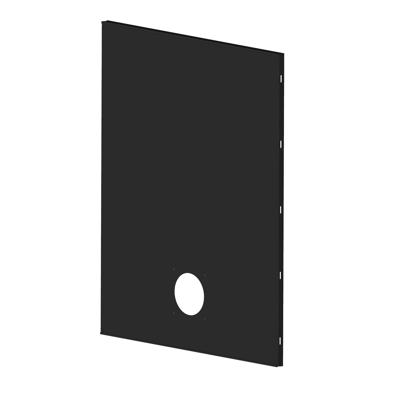 plaque de protection murale noir atelier dixneuf arriv e d 39 air cm cm leroy merlin. Black Bedroom Furniture Sets. Home Design Ideas