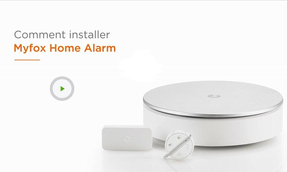 Alarme maison sans fil connect e home alarm myfox leroy merlin - Myfox home alarm ...