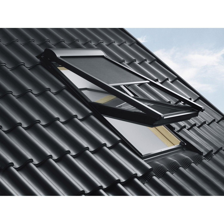 Affordable Store Fentre De Toit Pare Soleil Tlcommand Lectrique Noir Velux  Mml Mk With Store Occultant Exterieur Pour Fenetre