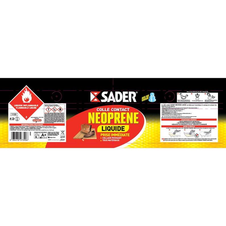Colle Néoprène Liquide Multi Usages Sader 25l