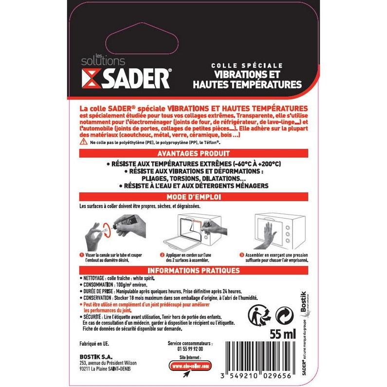 Colle Réparation Spéciale Experts Sader 55ml