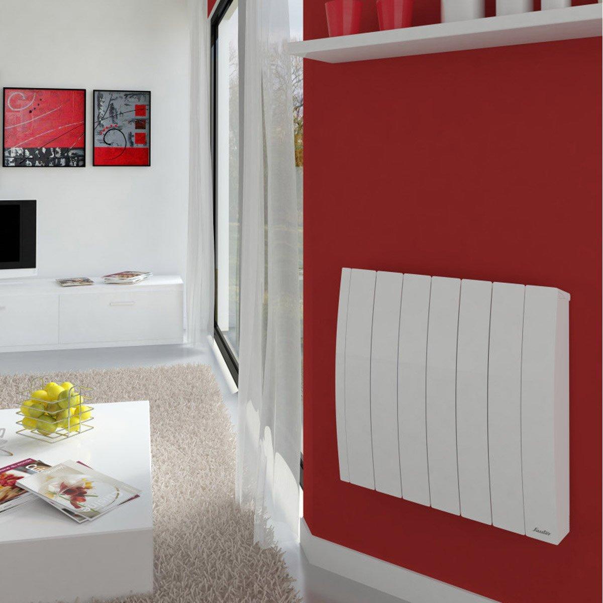 radiateur lectrique inertie fluide sauter bachata 2000 w leroy merlin. Black Bedroom Furniture Sets. Home Design Ideas