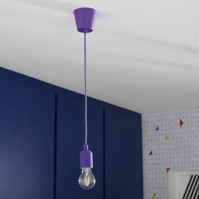un fils lectrique et une douille une suspension tout simplement leroy merlin. Black Bedroom Furniture Sets. Home Design Ideas