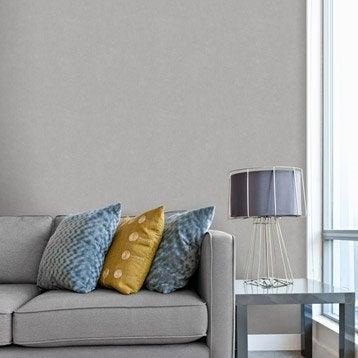 Papier peint intissé Beton mat gris-gris n°3