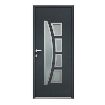 Porte d\'entrée - porte aluminium, pvc, bois - porte ...