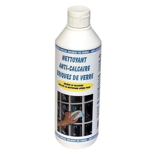 Nettoyant anti calcaire brique verre 500 ml leroy merlin for Produit anti calcaire