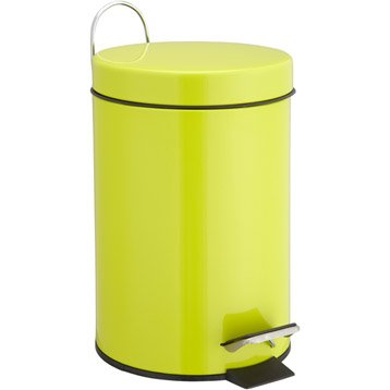 Poubelle de salle de bains accessoires et miroirs de for Accessoires de salle de bain jaune