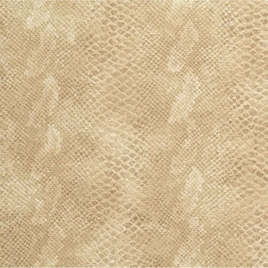Rev tement adh sif boa beige 2 m x m leroy merlin - Revetement adhesif decoratif ...