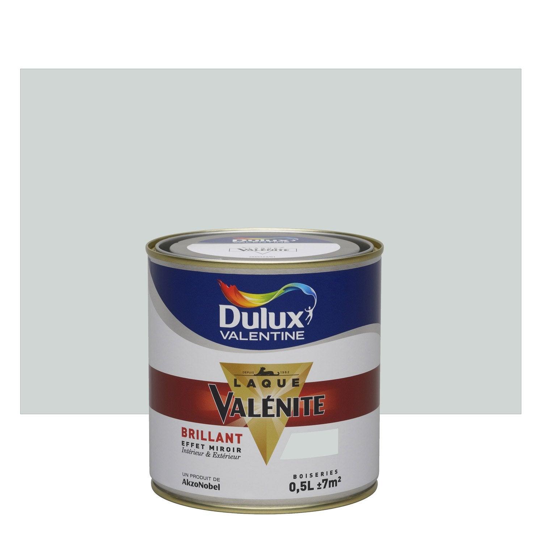 Peinture Boiserie Valénite DULUX VALENTINE, Gris Perle, 0.5 L, Brillant ...