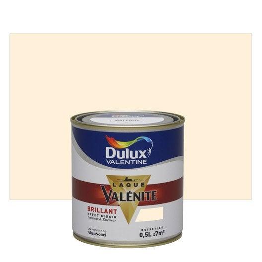 peinture blanc cass dulux valentine val nite 0 5 l. Black Bedroom Furniture Sets. Home Design Ideas