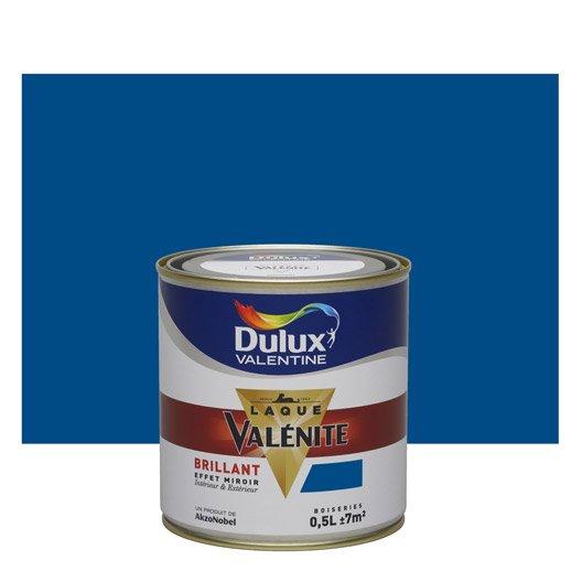 peinture bleu de bretagne dulux valentine val nite 0 5 l leroy merlin. Black Bedroom Furniture Sets. Home Design Ideas
