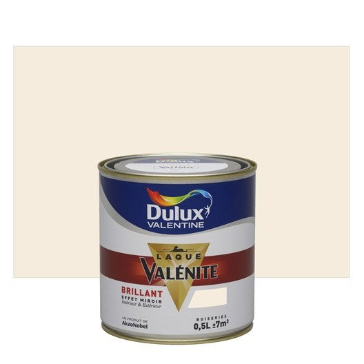 peinture beige lin clair dulux valentine val nite 0 5 l leroy merlin. Black Bedroom Furniture Sets. Home Design Ideas
