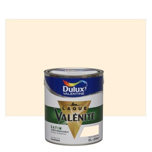 peinture blanc cass dulux valentine val nite 2 l leroy merlin. Black Bedroom Furniture Sets. Home Design Ideas
