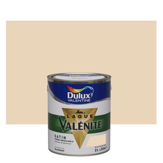 Peinture beige coquille d 39 oeuf dulux valentine val nite 2 l leroy merlin - Peinture coquille d oeuf ...