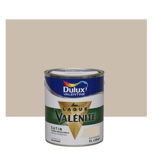 Peinture beige grain de sable dulux valentine val nite 2 l leroy merlin for Peinture couleur argile