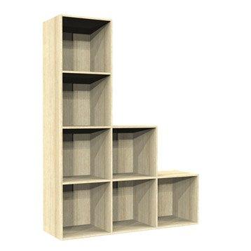 Etag re et meuble de rangement multikaz leroy merlin - Etagere cube leroy merlin ...