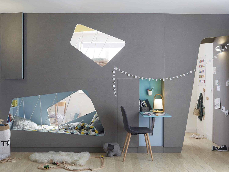 Leroy Merlin Chambre Enfant créer deux chambres d'enfant dans une seule pièce | leroy merlin