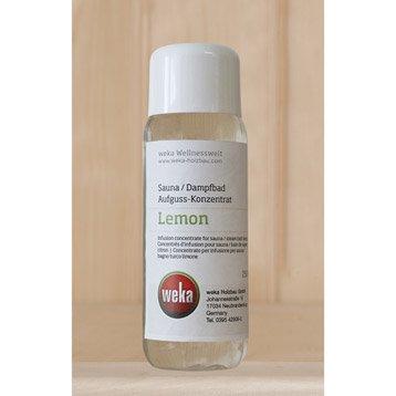 Concentré pour sauna WEKA, parfum citron 250 ml