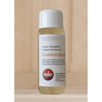 Concentré pour sauna WEKA, parfum orange exotique 250 ml
