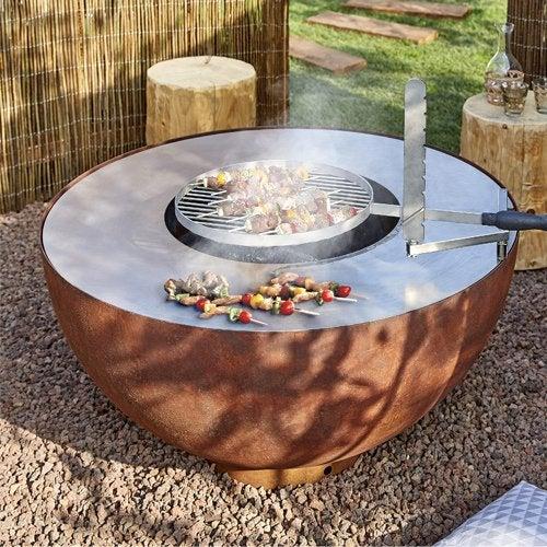 Barbecue Plancha Brasero Cuisine Dextérieur Leroy Merlin
