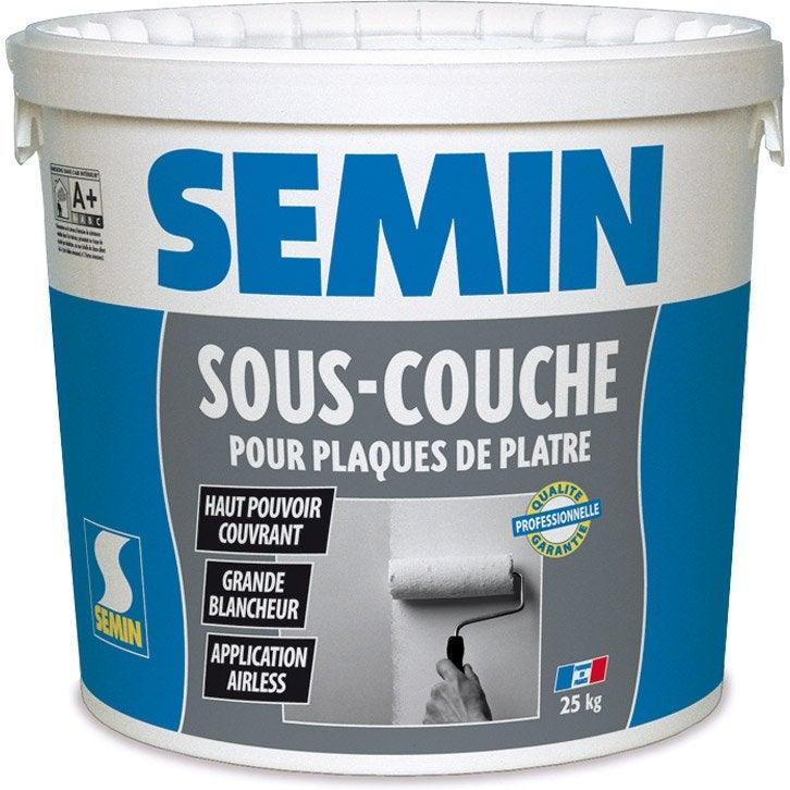 Plâtre Sous Couche Universelle Semin, 25 Kg | Leroy Merlin