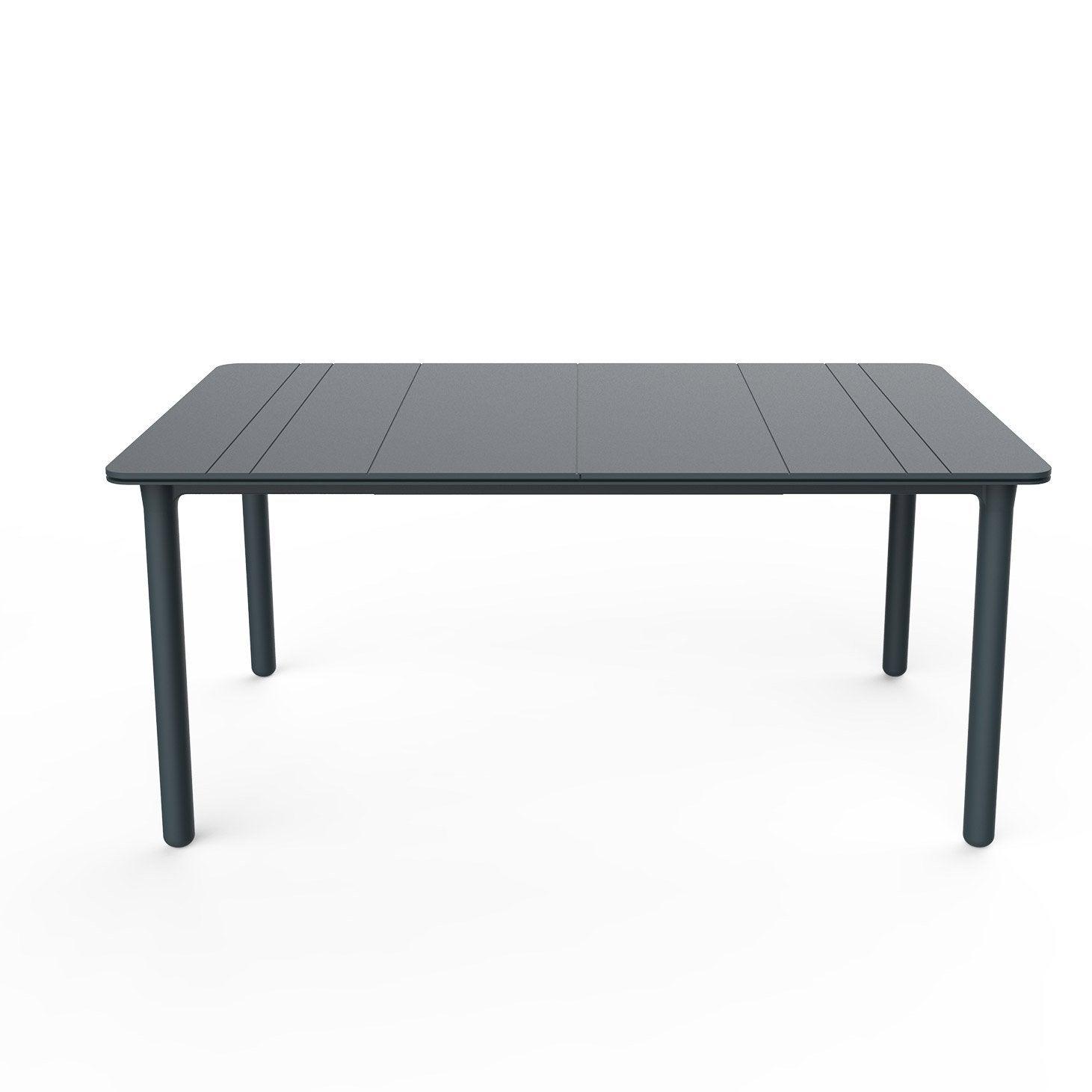Carrée Table Gris PersonnesLeroy De Repas Jardin Noa Foncé 4 N8nw0OPkX