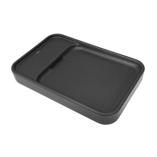 vasque poser pastille en gr s maill 53 x 35 cm leroy merlin. Black Bedroom Furniture Sets. Home Design Ideas