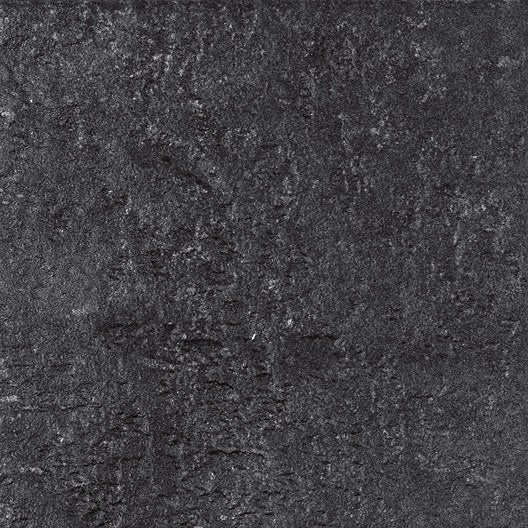 Carrelage vestige artens gr s c rame teint masse noir - Carrelage gres cerame noir ...