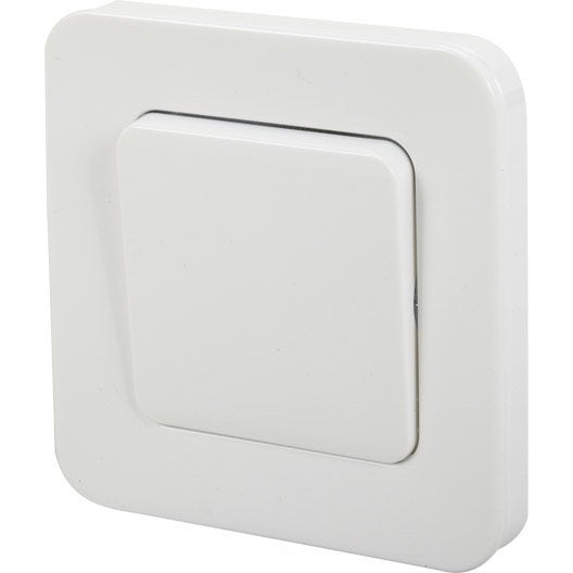 interrupteur va et vient encastrable blanc lexman city leroy merlin. Black Bedroom Furniture Sets. Home Design Ideas