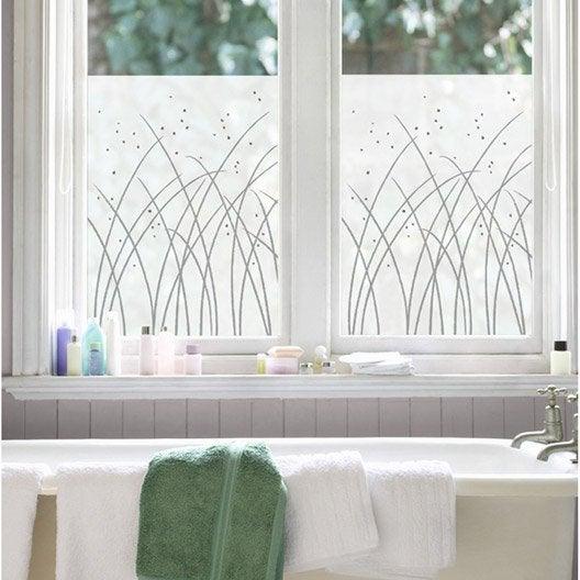 sticker graminees 50 cm x 70 cm leroy merlin. Black Bedroom Furniture Sets. Home Design Ideas
