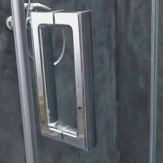 Porte de douche pivot-pliante, Entra gauche