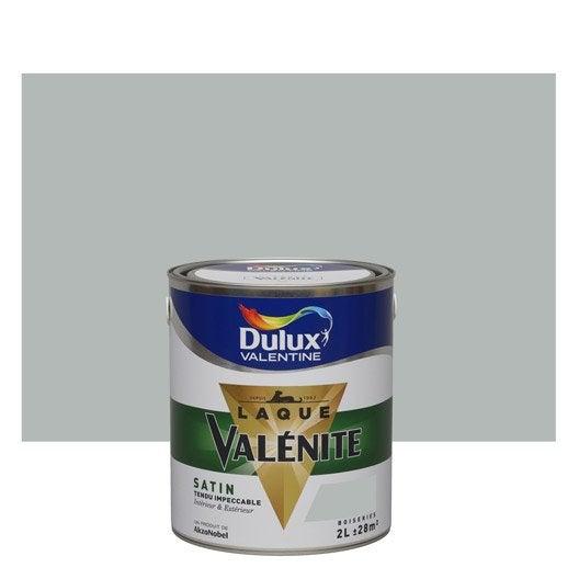 Peinture gris alpaga dulux valentine val nite 2 l leroy for Peinture dulux valentine gris