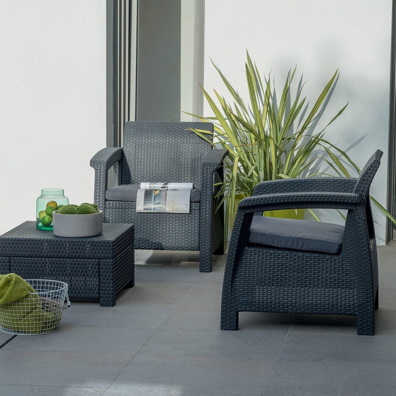 salon de jardin un espace de vie en plein air. Black Bedroom Furniture Sets. Home Design Ideas