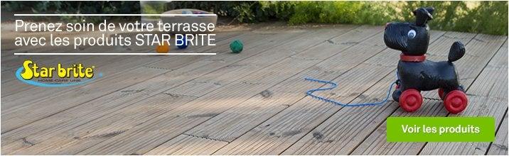Prenez soin de votre terrasse avec les produits Star Brite