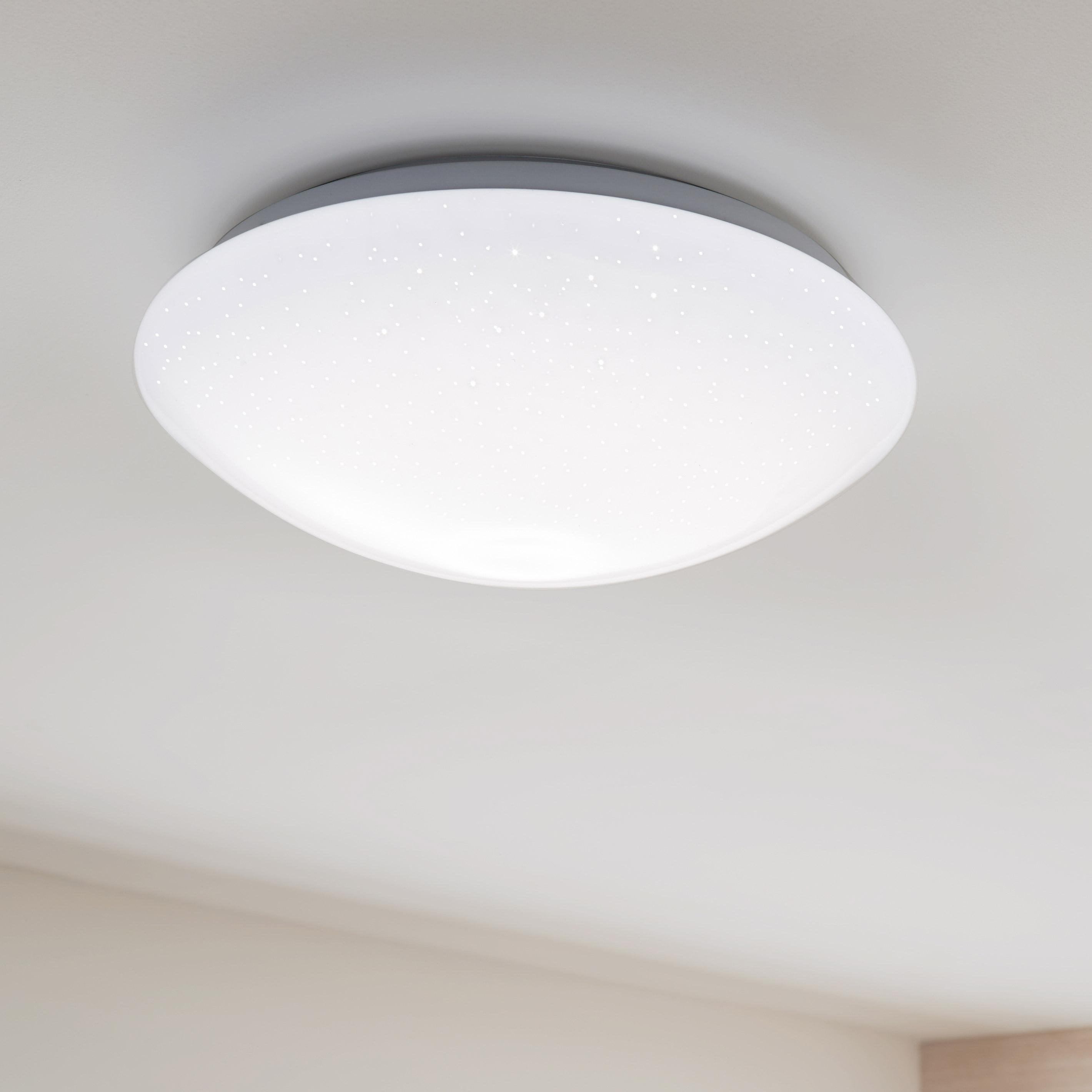 Plafonnier Modica, LED 1 x 25 W intégrée changement de blanc chaud à blanc froid