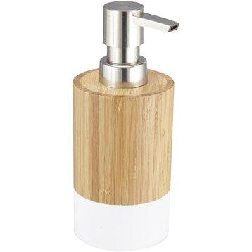 Distributeur de savon James, blanc-blanc 0