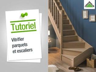 Vitrifier parquets et escaliers