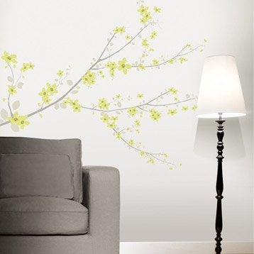 Sticker Cherry tree vert 47 cm x 67 cm