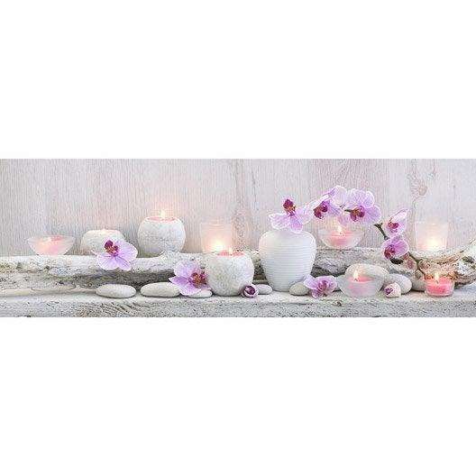 Toile led vases 90x30 cm for Miroir 90x30