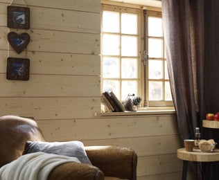 Du bois partout dans la maison