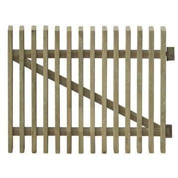 portillon aluminium bois fer pvc leroy merlin. Black Bedroom Furniture Sets. Home Design Ideas
