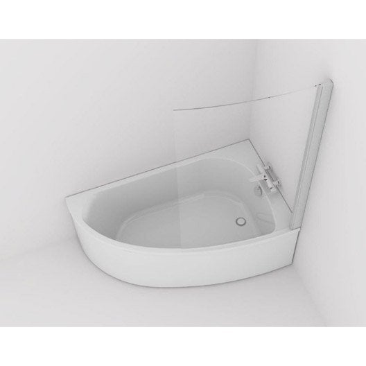 baignoire d 39 angle cm jacob delafon duomega 2. Black Bedroom Furniture Sets. Home Design Ideas