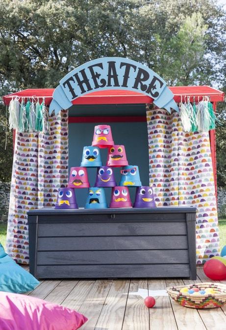 Un mini théâtre pour les enfants