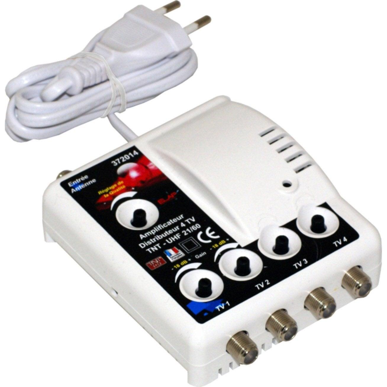 Amplificateur Intérieur Terrestre 4 Sorties Leroy Merlin