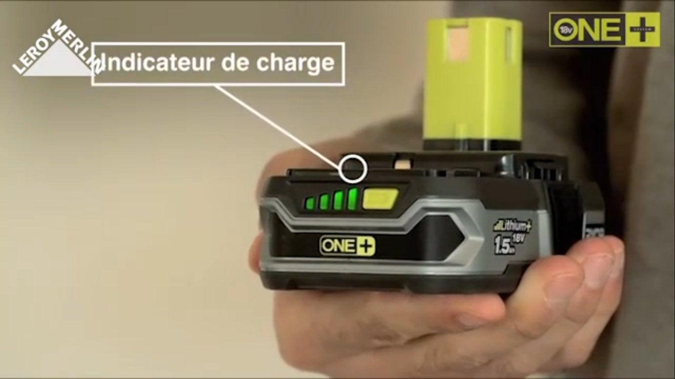 Plate-forme RYOBI ONE+ 18V : 1 batterie lithium 18V pour ...
