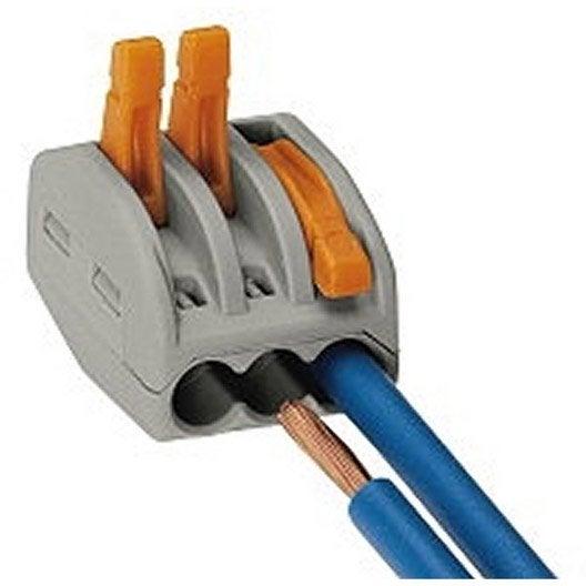 Leroy merlin cable electrique cble lectrique souple x mm for Cable electrique souple leroy merlin